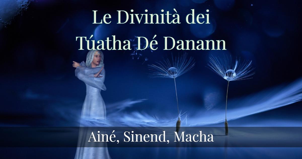 Le Divinità dei Túatha Dé Danann- Parte 4