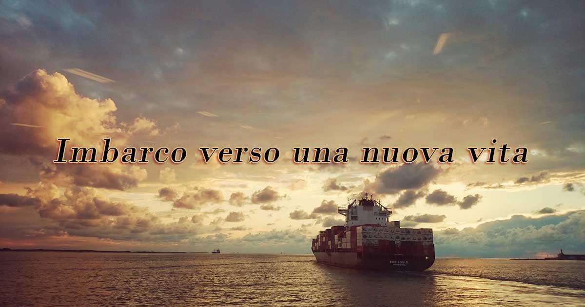 Imbarco verso una nuova vita